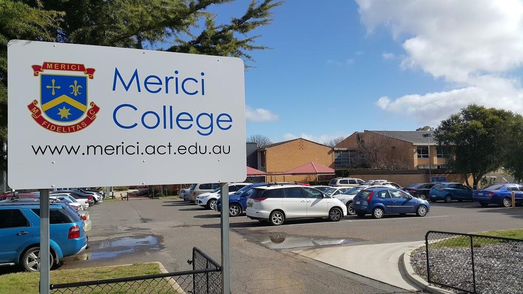 Merici College   school   Wise St, Braddon ACT 2612, Australia   0262434100 OR +61 2 6243 4100