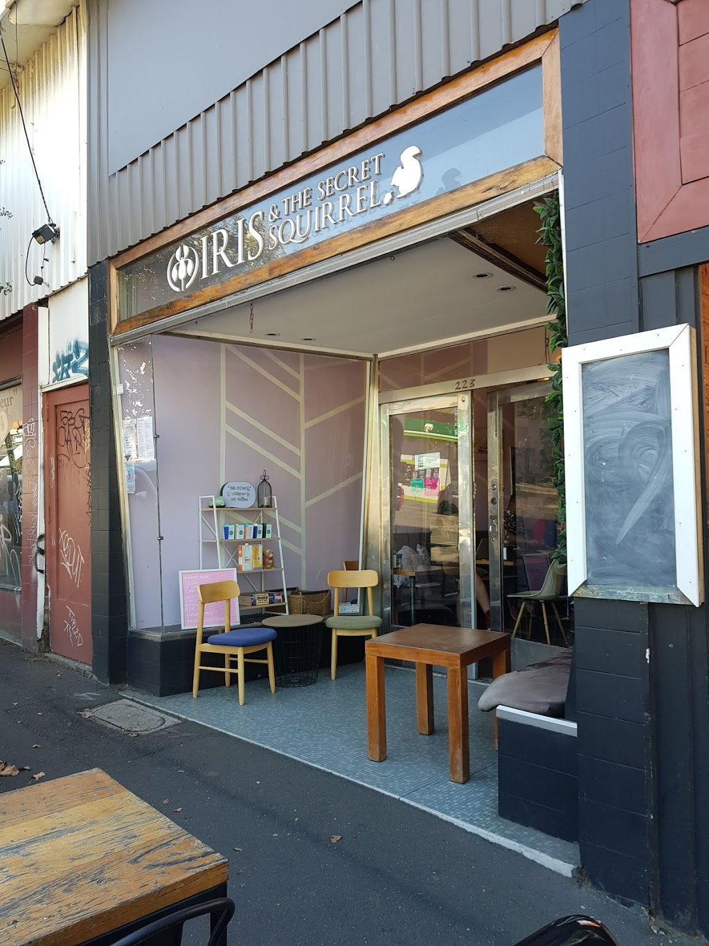 Iris and the Secret Squirrel | cafe | 223 Swan St, Richmond VIC 3121, Australia | 0452514497 OR +61 452 514 497