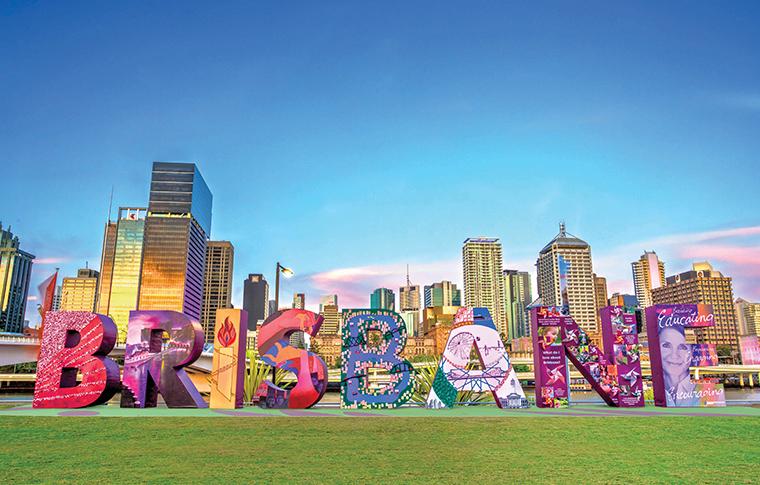 Brisbane Sign | museum | South Brisbane QLD 4101, Australia
