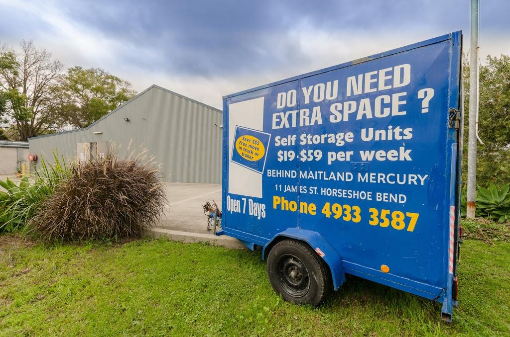Extra Space Mini Storage | storage | 11 James St, Maitland NSW 2320, Australia | 0249333587 OR +61 2 4933 3587