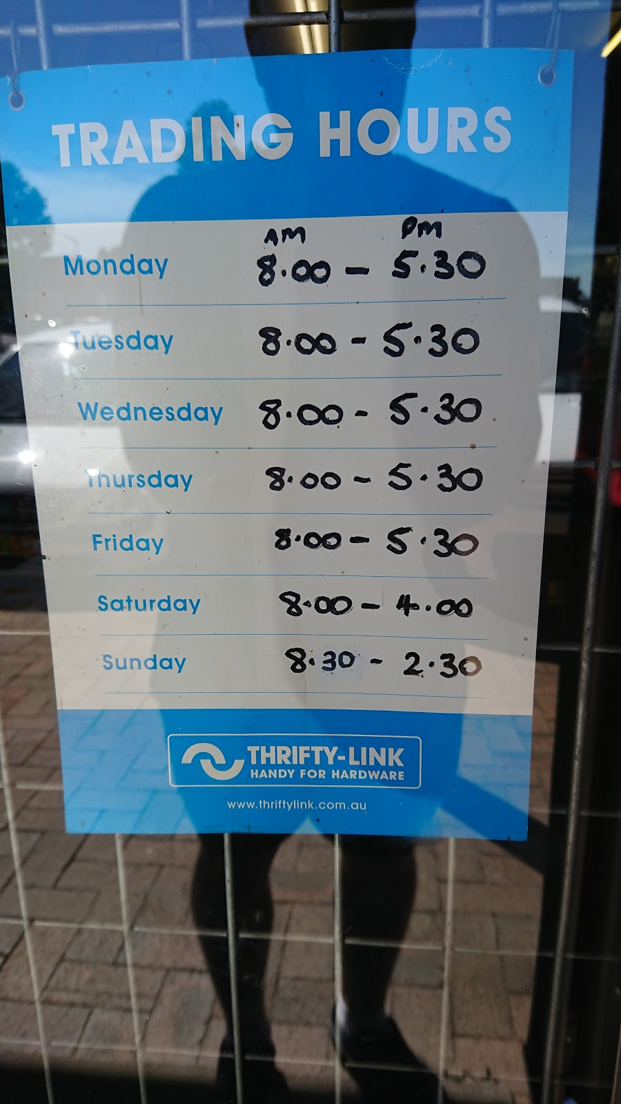 Thrifty-Link Hardware | hardware store | 9-11 Rooty Hill Rd N, Rooty Hill NSW 2766, Australia | 0296258549 OR +61 2 9625 8549
