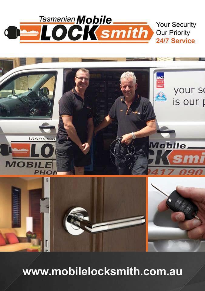 Tasmanian Mobile Locksmith   locksmith   2 Clare St, New Town TAS 7000, Australia   0417090696 OR +61 417 090 696