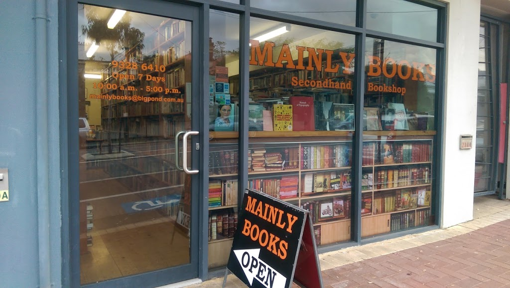 Mainly Books | book store | 209 Bulwer St, Perth WA 6000, Australia | 0893286410 OR +61 8 9328 6410