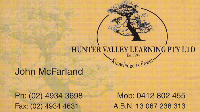 Hunter Valley Learning PTY Ltd. | university | 4 Nillo St, Lorn NSW 2320, Australia | 0412802455 OR +61 412 802 455