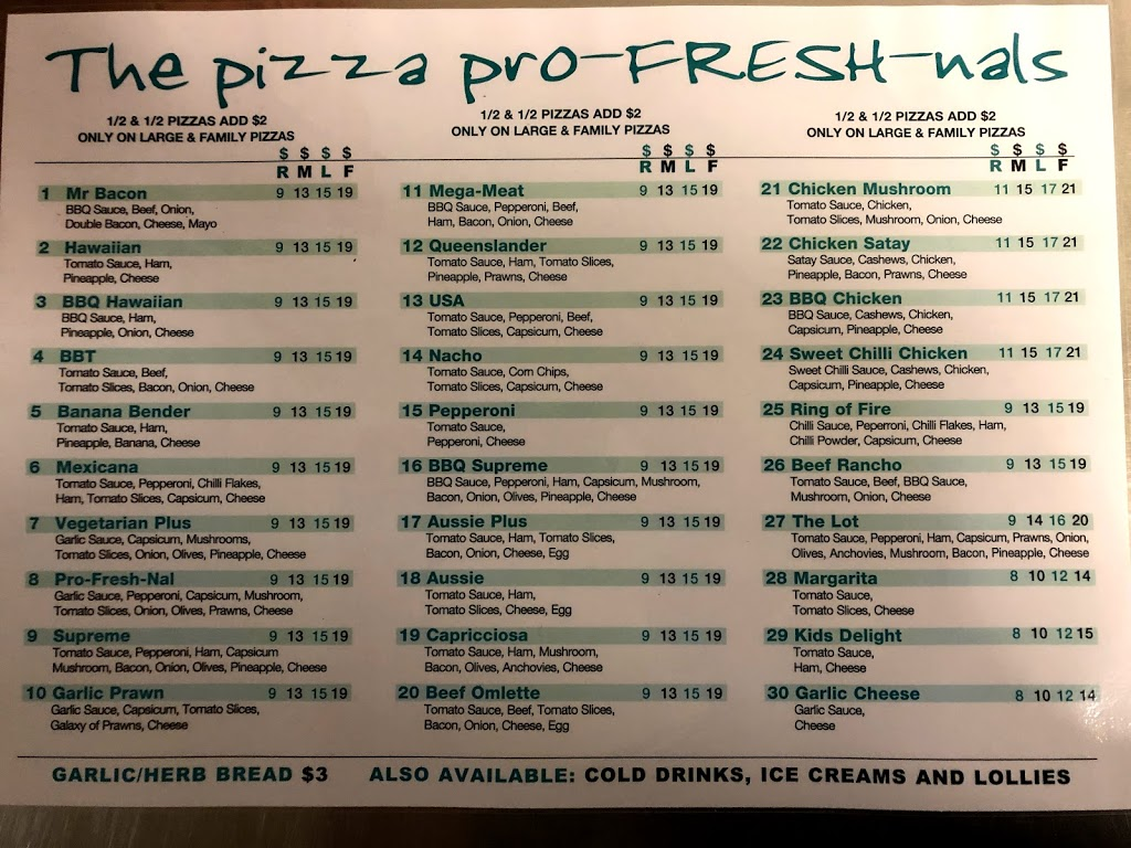 Pizza Pro-Fresh-Nals | meal takeaway | 58 Barkly St, Ararat VIC 3377, Australia | 0353522277 OR +61 3 5352 2277