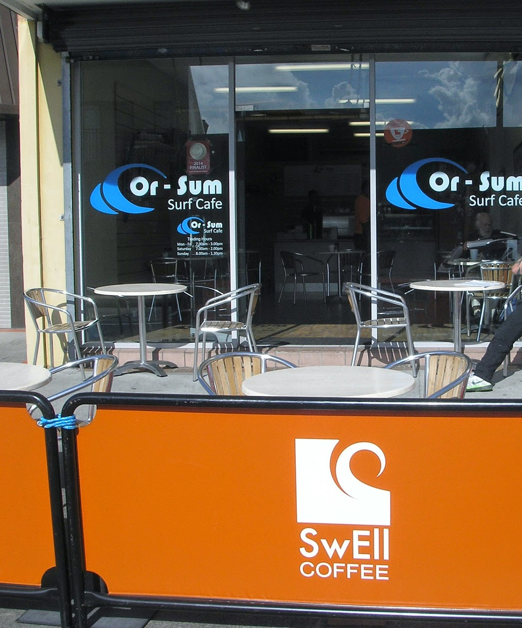 Or-Sum Surf Cafe | cafe | 10 George St, Warilla NSW 2528, Australia | 0242962244 OR +61 2 4296 2244