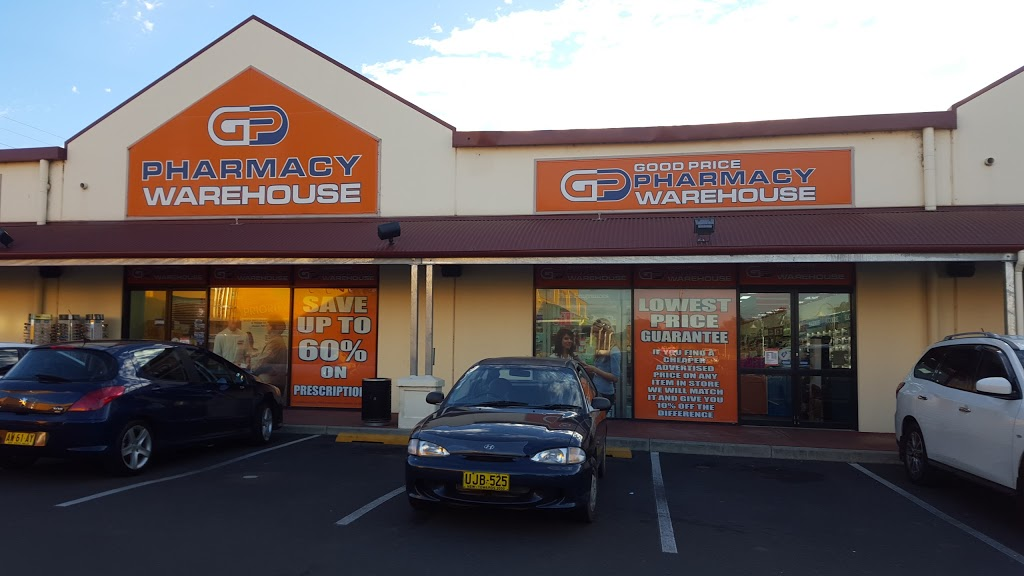 Good Price Pharmacy Warehouse Tamworth | health | Homespace Centre Shop 6, Corner Greg Norman Drive and, New England Hwy, Hillvue NSW 2340, Australia | 0267623211 OR +61 2 6762 3211