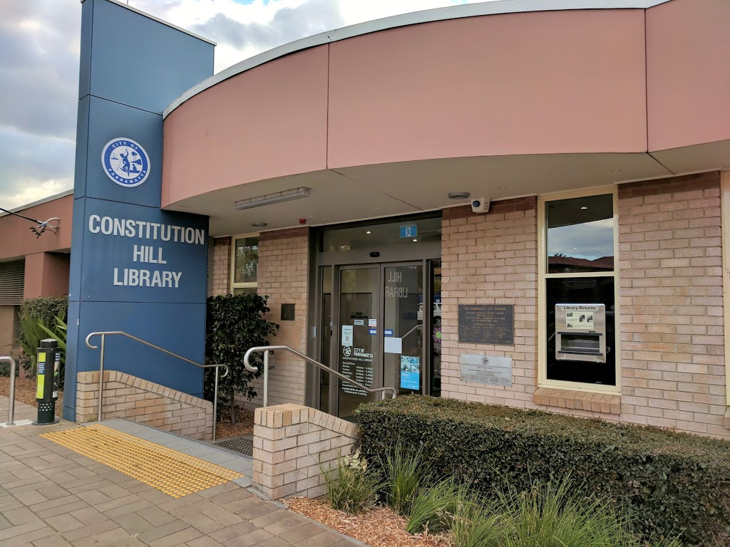 Constitution Hill Branch Library   library   20 Hollis St, Constitution Hill NSW 2146, Australia   0298065500 OR +61 2 9806 5500