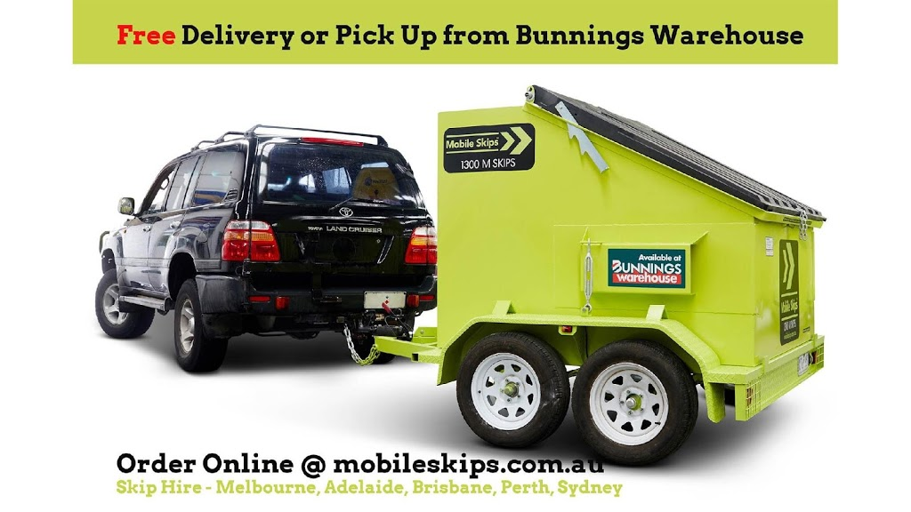 Mobile Skips - Hardware store | In Store : Bunnings North