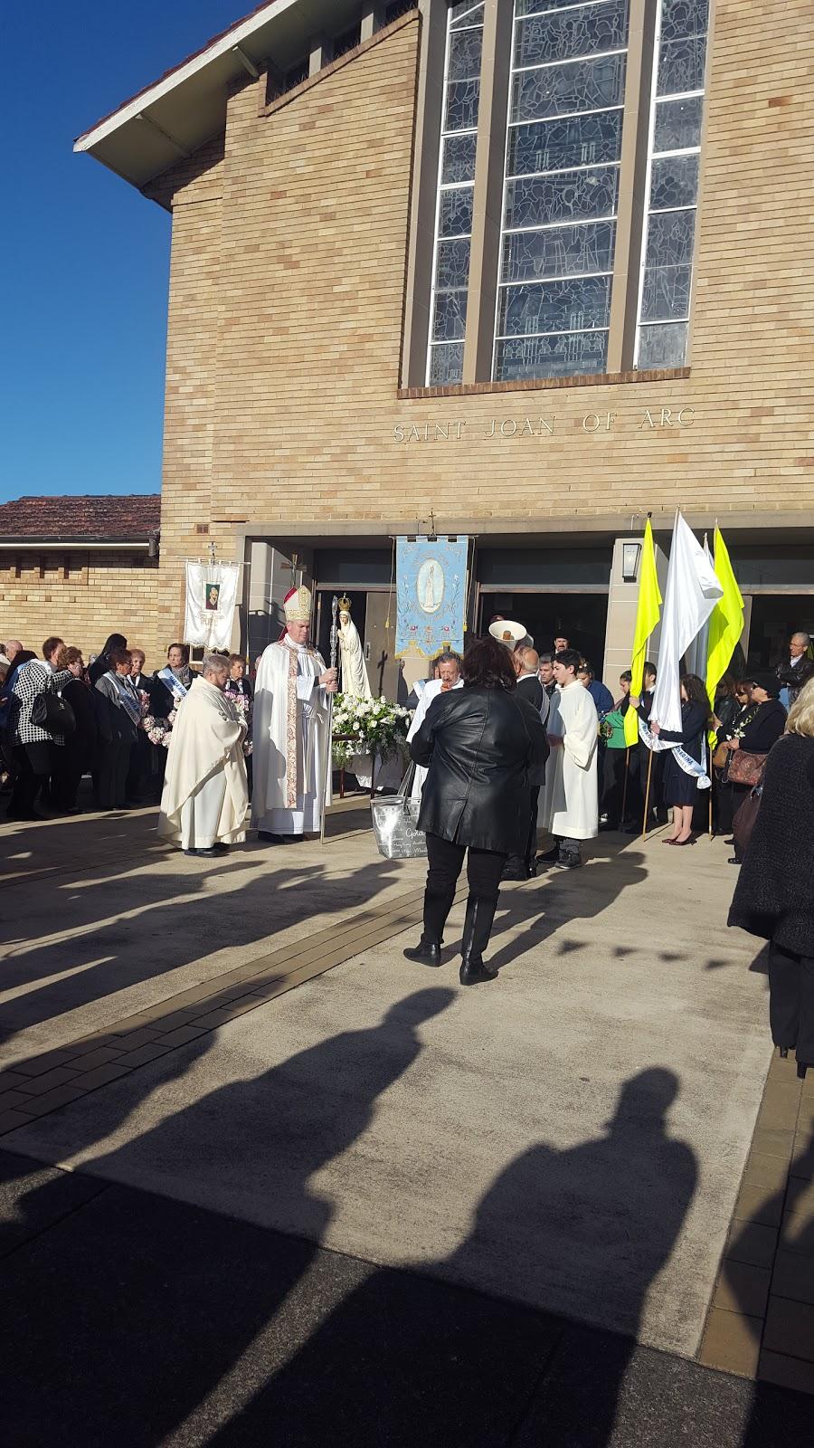 St Joan of Arc Catholic Parish Haberfield | church | 97 Dalhousie St, Haberfield NSW 2045, Australia | 0297986657 OR +61 2 9798 6657