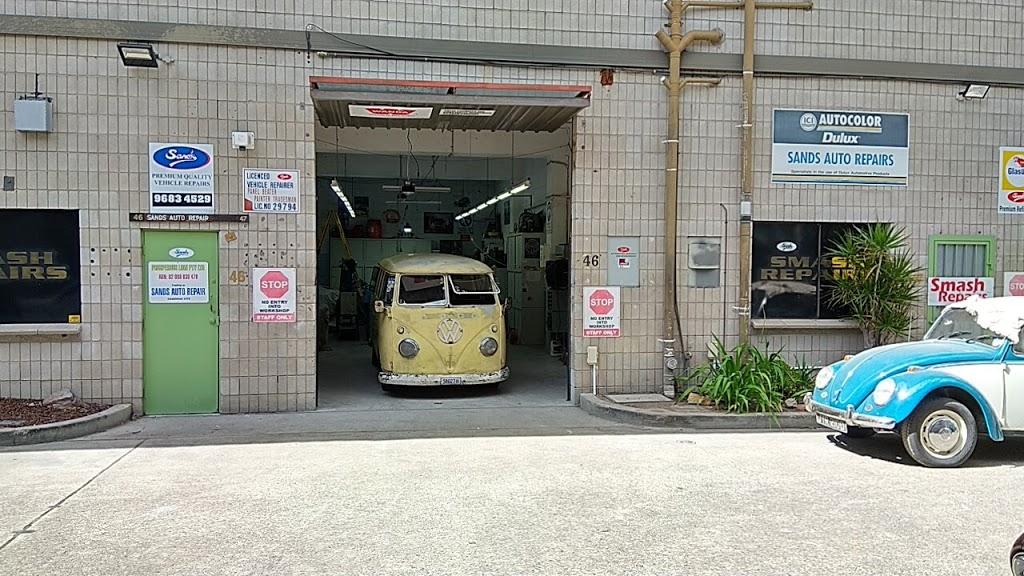 Sands Auto body Repairs | car repair | Unit 46/47 2 Richard Cl, North Rocks NSW 2151, Australia | 0410639136 OR +61 410 639 136
