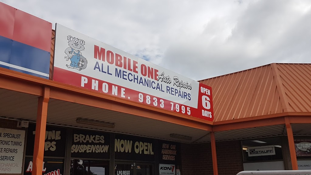 Mobile One Auto Repairs | car repair | 6/176 Forrester Rd, St Marys NSW 2760, Australia | 0298337995 OR +61 2 9833 7995