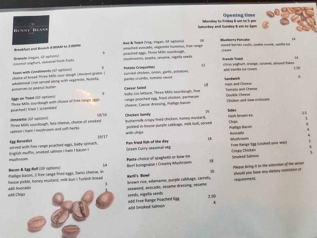 BUNNY BEANS Café | cafe | U 16/64 Hardwick Cres, Holt ACT 2615, Australia | 0261795168 OR +61 2 6179 5168
