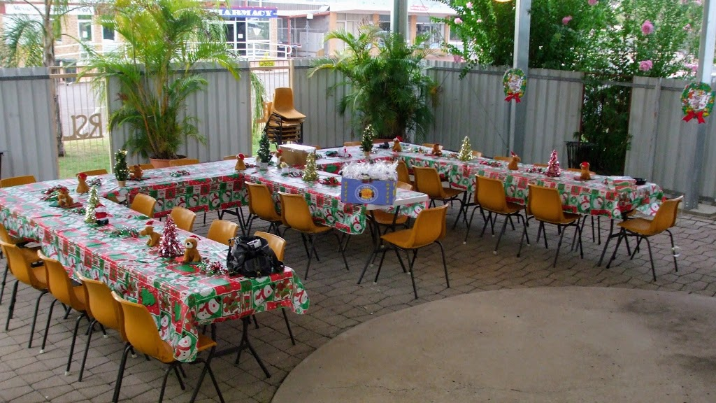 Moura RSL Service & Citizen Club   point of interest   Young St & Marshall St, Moura QLD 4718, Australia   0749972107 OR +61 7 4997 2107