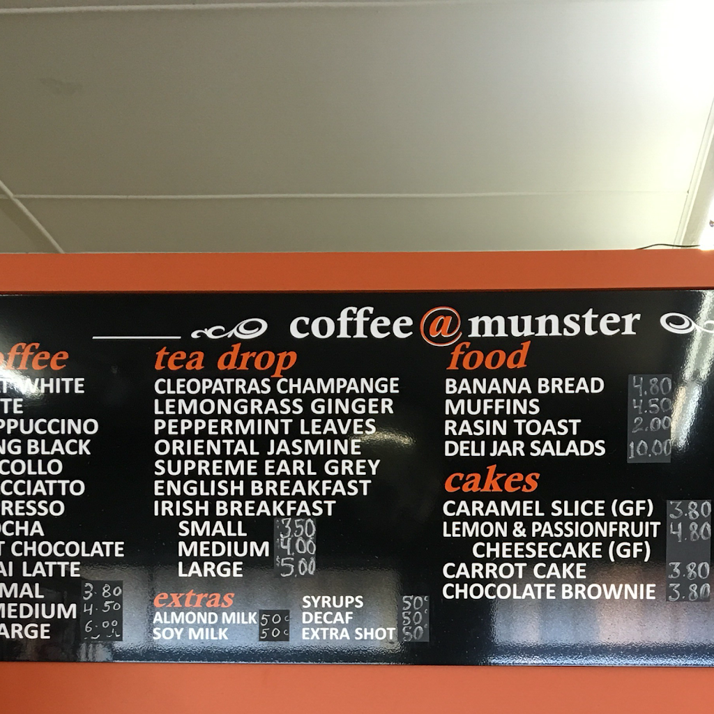 Coffee @ Munster | cafe | 35 Munster St, Port Macquarie NSW 2444, Australia | 0265847116 OR +61 2 6584 7116