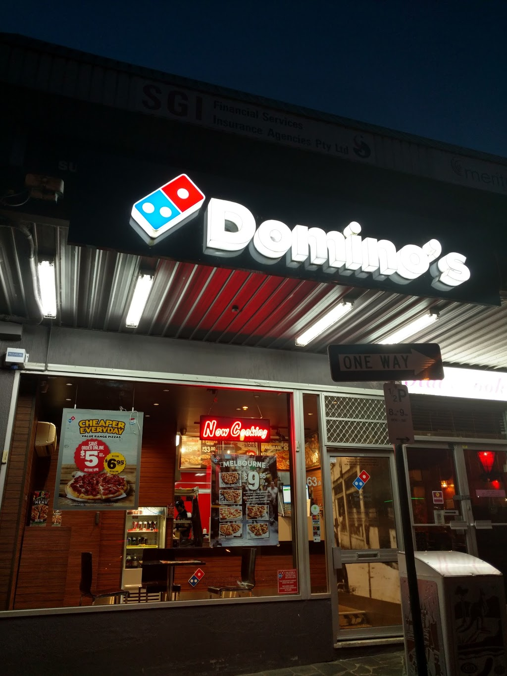 Dominos Pizza | meal takeaway | 63A Main Rd, Lower Plenty VIC 3093, Australia | 0384056220 OR +61 3 8405 6220