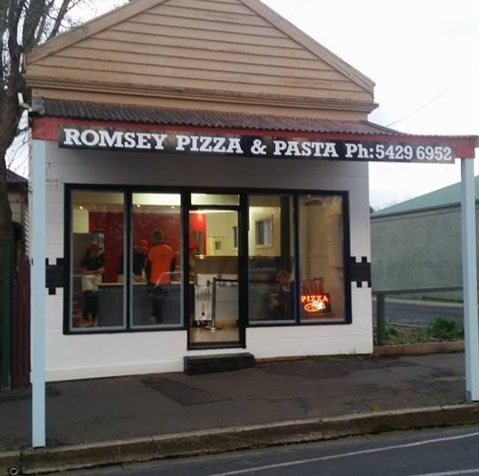 Romsey Pizza and Pasta | meal takeaway | 86 Main St, Romsey VIC 3434, Australia | 0354296952 OR +61 3 5429 6952