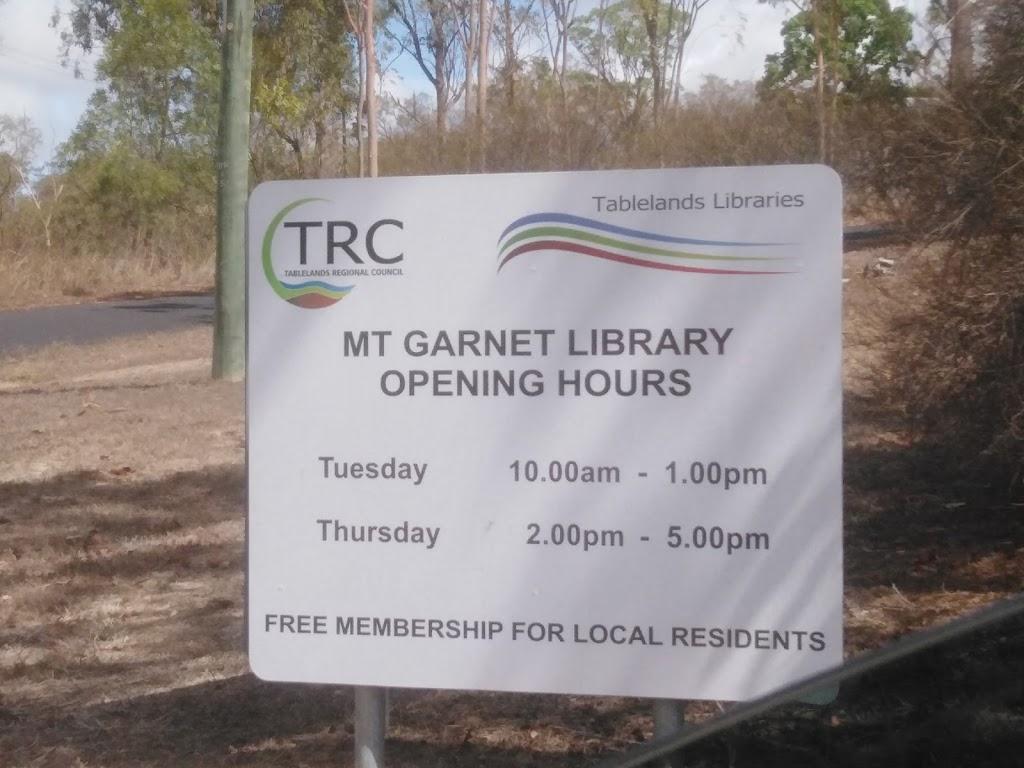 Tablelands Regional Council - Mount Garnet Library   library   Ruby St, Mount Garnet QLD 4872, Australia   0740892246 OR +61 7 4089 2246