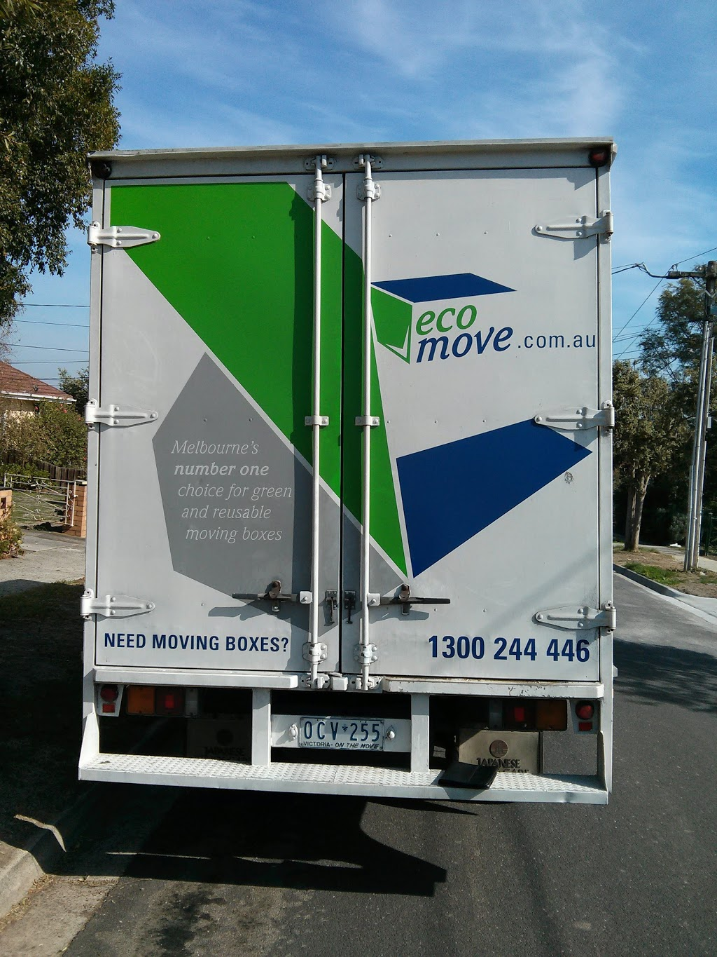 Eco Move | moving company | 14 Soudan Rd, West Footscray VIC 3012, Australia | 1300244446 OR +61 1300 244 446
