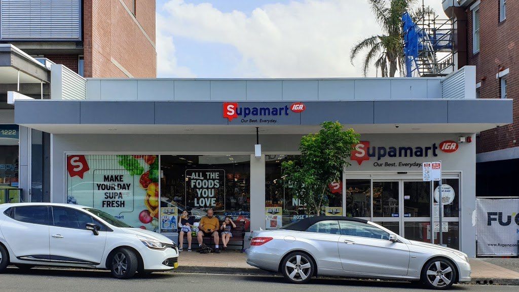 Supamart IGA Rose Bay | store | 1-5 Dover Rd, Rose Bay NSW 2029, Australia | 0293716730 OR +61 2 9371 6730