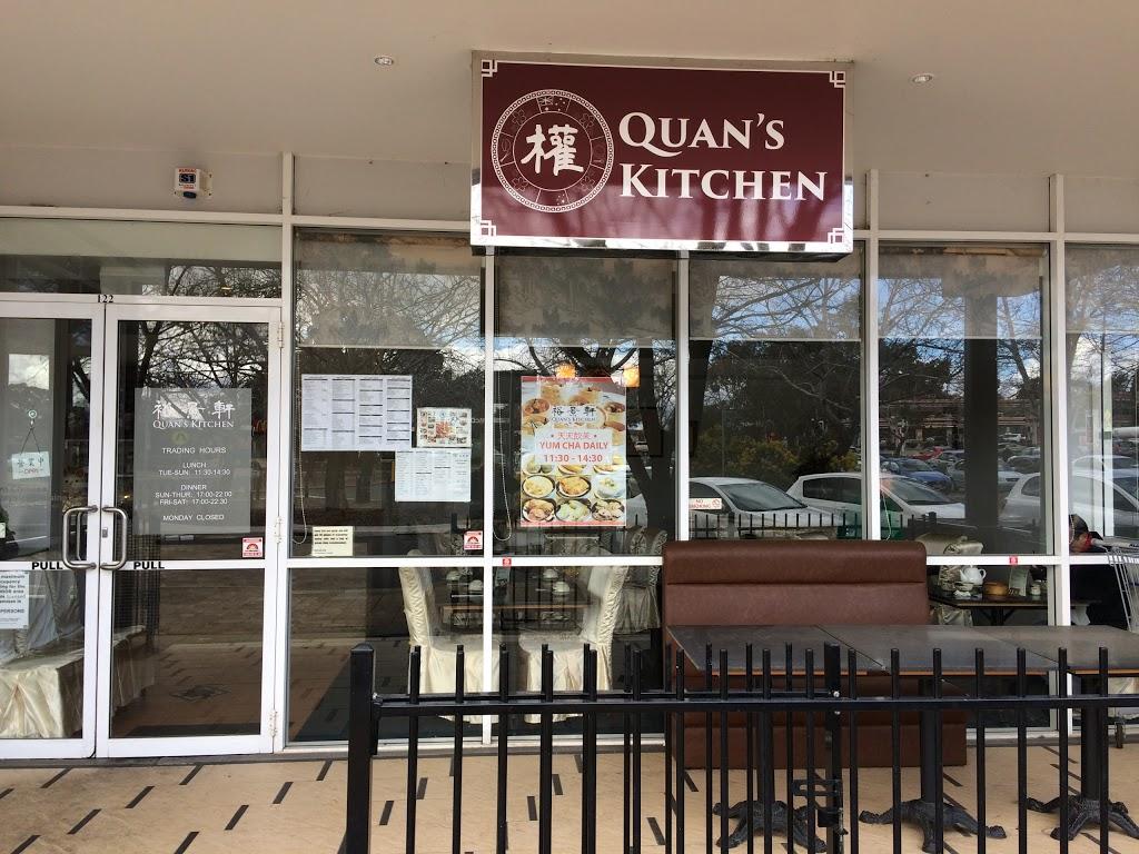Quan S Kitchen 68 Hardwick Cres Holt Act 2615 Australia