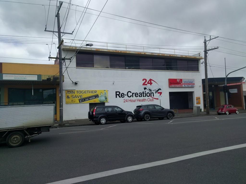 Re-Creation Health Club - Gym   275 Buckley St , Essendon