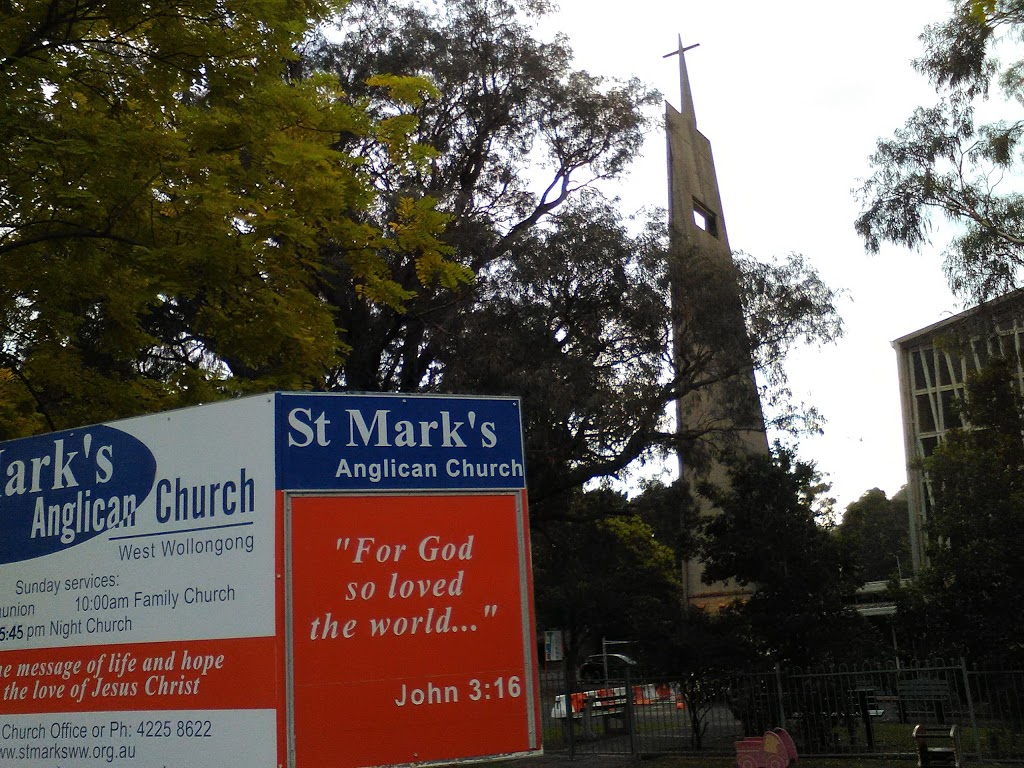 Saint Marks Anglican Church | church | 429 Crown St, Wollongong NSW 2500, Australia | 0242258622 OR +61 2 4225 8622