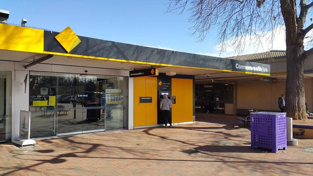 Commonwealth Bank | bank | Dickson Pl, Dickson ACT 2602, Australia | 0262496466 OR +61 2 6249 6466