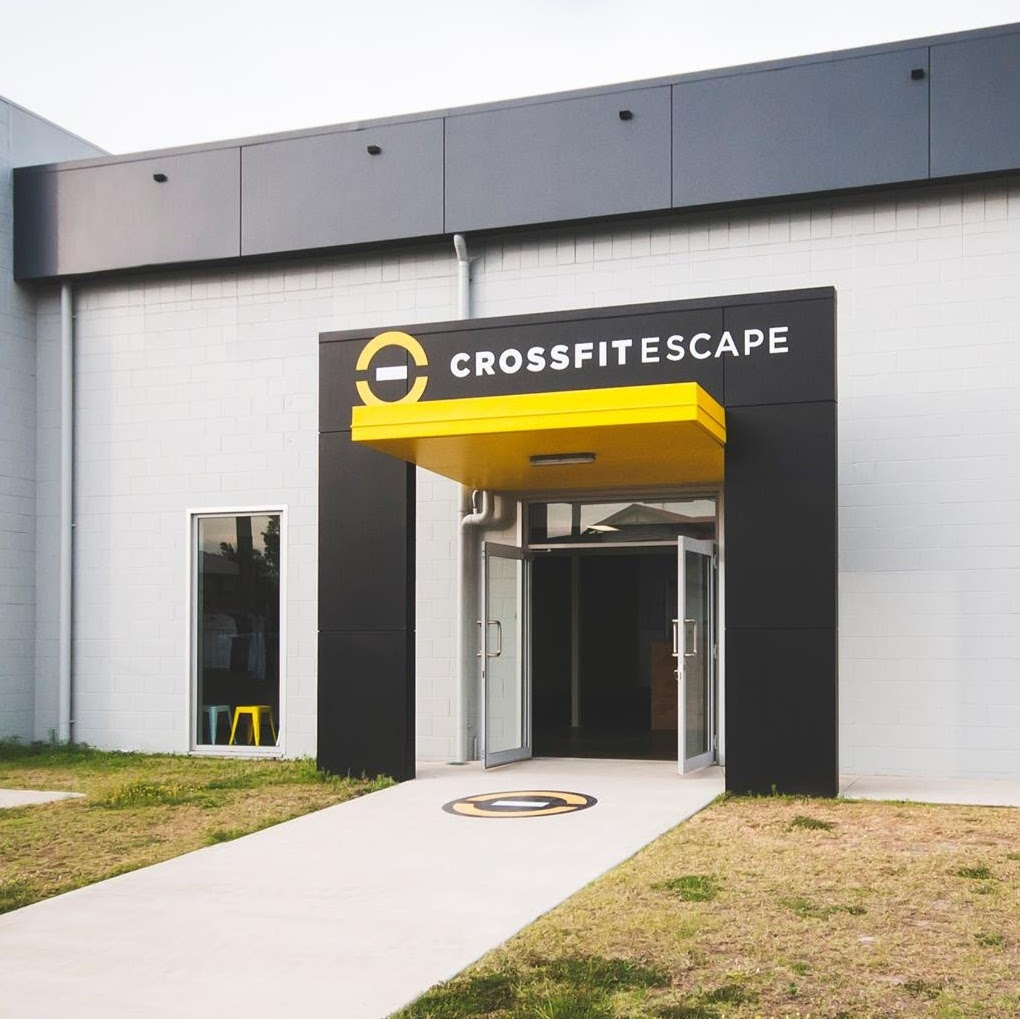 CrossFit Escape | gym | Unit5/10 Side St, Gladstone Central QLD 4680, Australia | 0419644374 OR +61 419 644 374