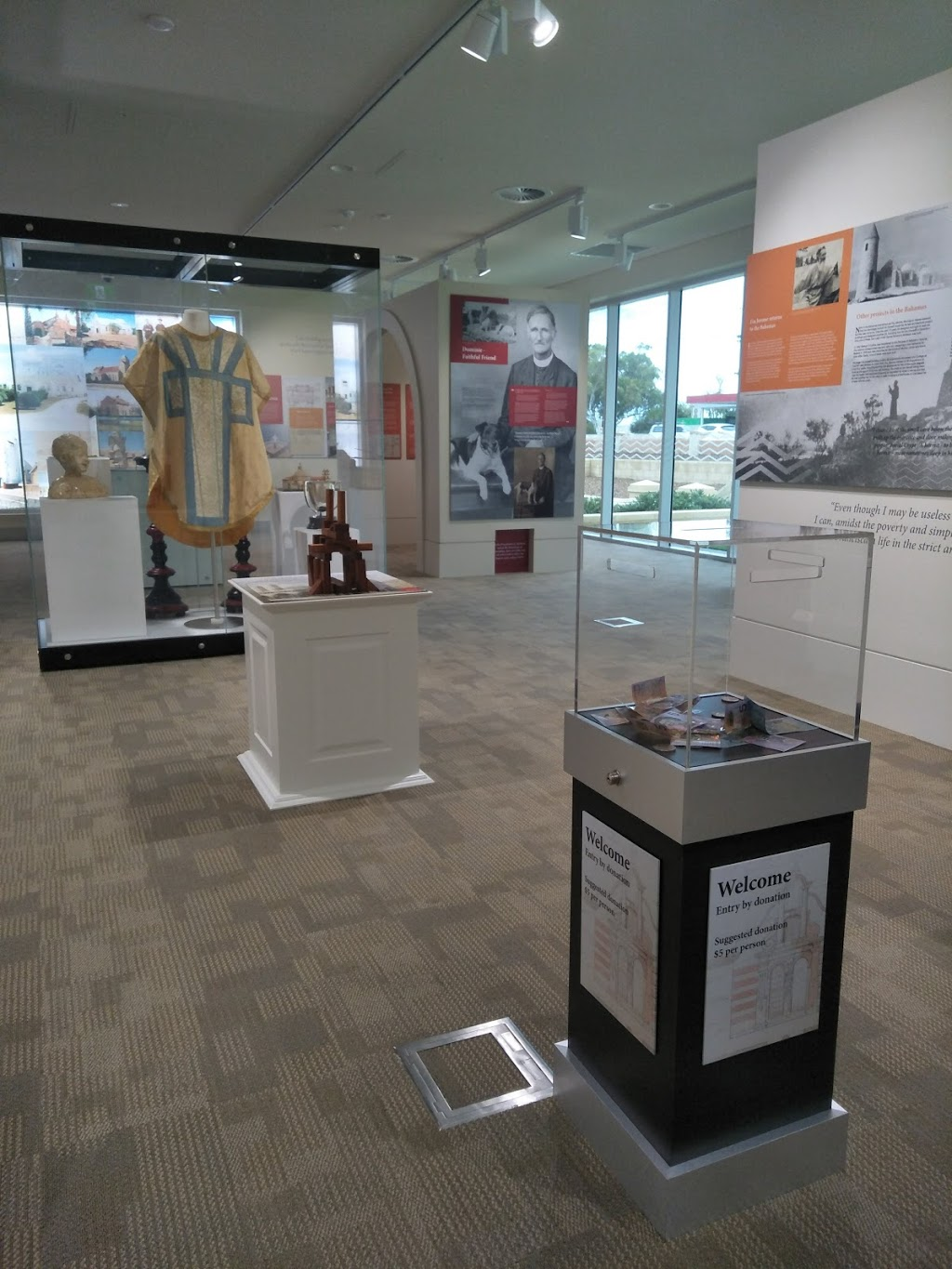Monsignor Hawes Heritage Centre | museum | 56 Cathedral Ave, Geraldton WA 6530, Australia | 0899379504 OR +61 8 9937 9504