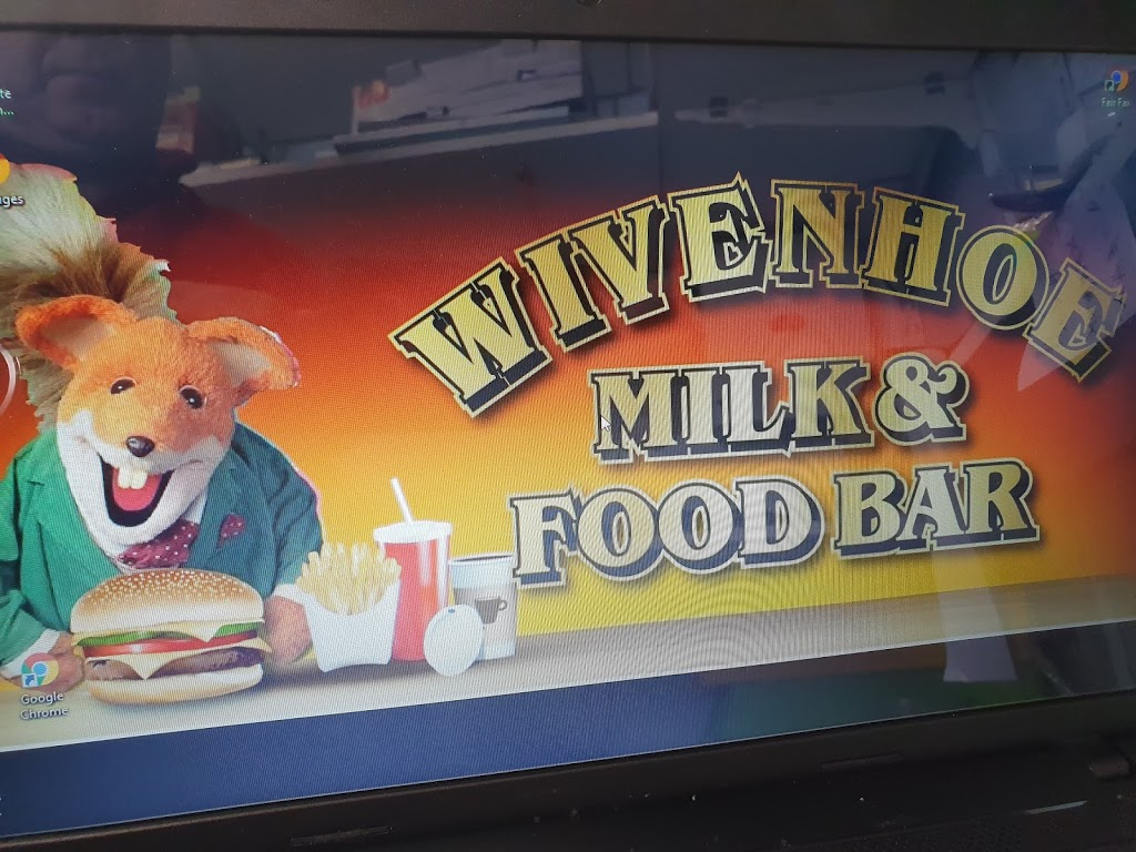Wivenhoe Milk and Food Bar | meal takeaway | 24 Main Rd, Wivenhoe TAS 7320, Australia | 0364311259 OR +61 3 6431 1259