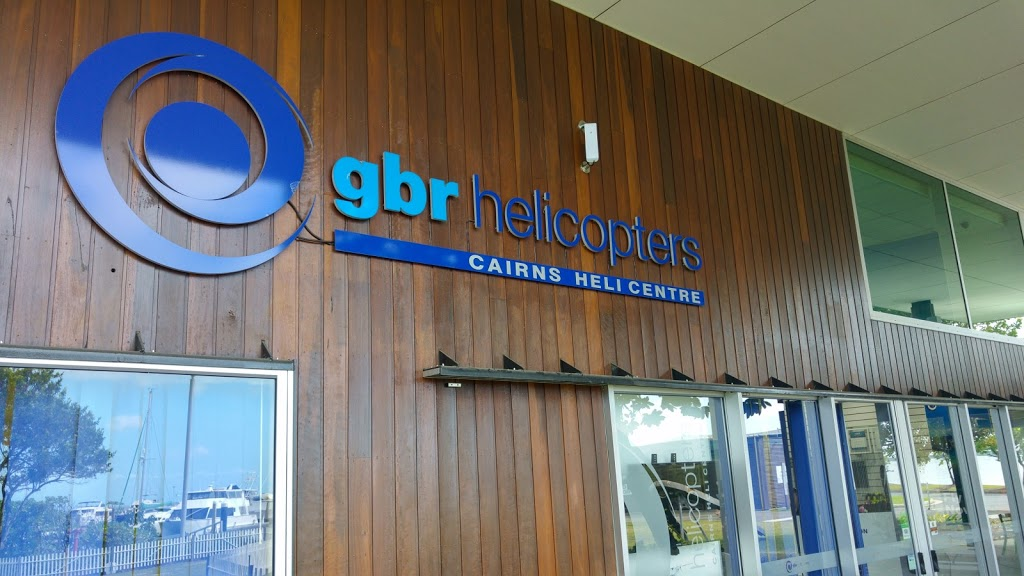 GBR Helicopters - Cairns Heliport | travel agency | 2 Pier Point Rd, Cairns City QLD 4870, Australia | 0740818888 OR +61 7 4081 8888