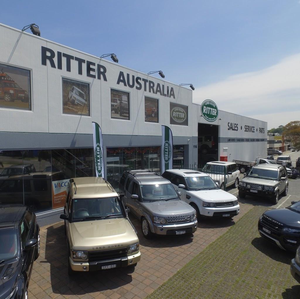 Vertu Specialist Cars Dealership: Ritter Australia Land Rover Specialists - Car Dealer