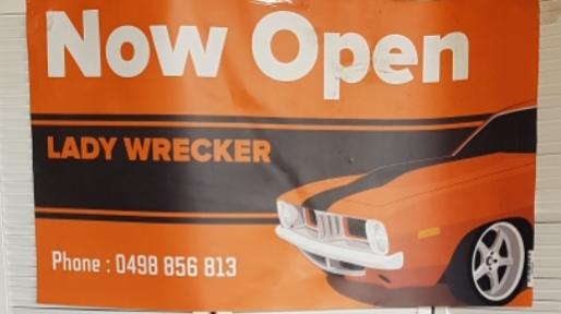 LADY WRECKER | car repair | 57-59 Main St, Maldon VIC 3463, Australia | 0498856813 OR +61 498 856 813