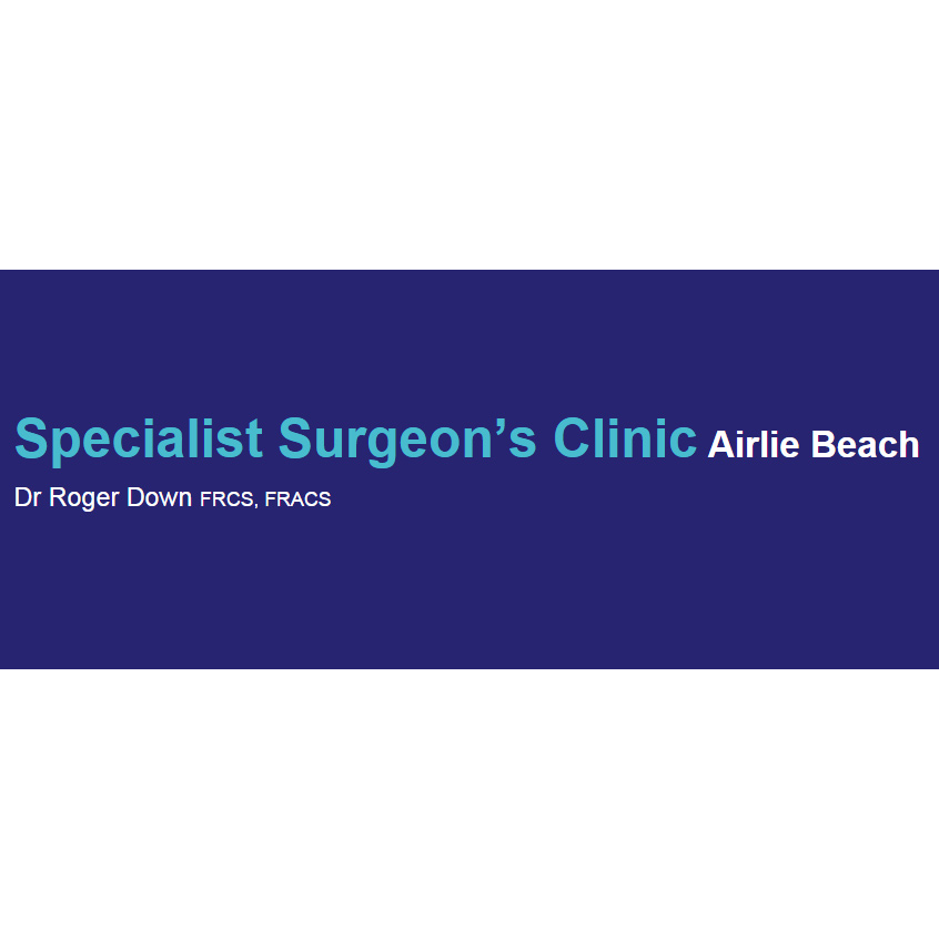 Roger Down Specialist Surgeon's Clinic | hospital | 1 Hillcrest Ave, Airlie Beach QLD 4802, Australia | 0497205639 OR +61 497 205 639