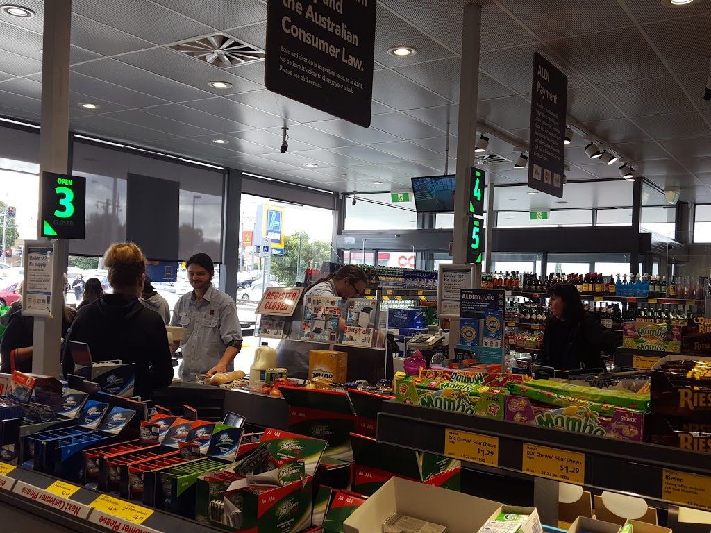 ALDI Geelong West | supermarket | 117-127 Albert St, Geelong West VIC 3218, Australia