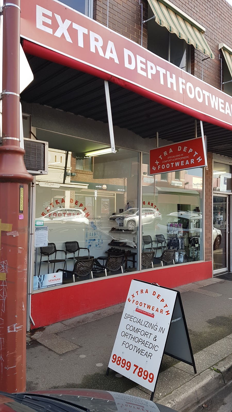 Extra Depth Footwear Mont Albert Store | shoe store | 1E Hamilton St, Mont Albert VIC 3127, Australia | 0398997899 OR +61 3 9899 7899