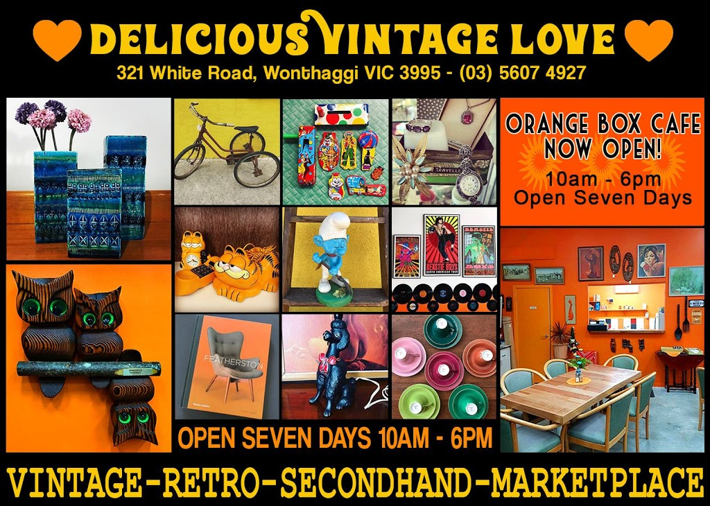 Delicious Vintage Love   clothing store   321 White Rd, South Dudley VIC 3995, Australia   0356074927 OR +61 3 5607 4927