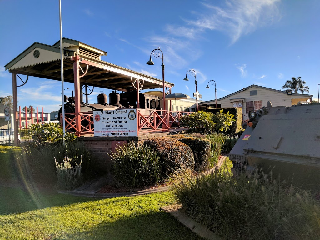St Marys Outpost   point of interest   107 Mamre Rd, St Marys NSW 2760, Australia   0298334711 OR +61 2 9833 4711