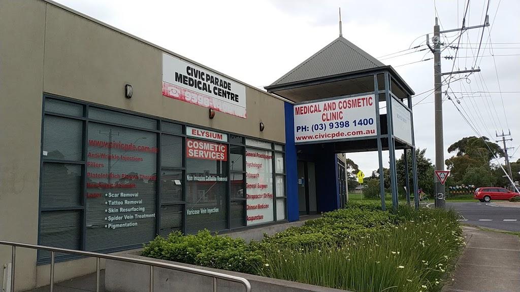 Civic Parade Medical Centre-Dr. Raymond Sze-Tho | doctor | 65 Millers Rd, Altona VIC 3018, Australia | 0393981400 OR +61 3 9398 1400