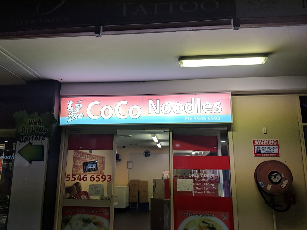 Coco Noodles | restaurant | shop 4a/19-21 Peachey Rd, Ormeau QLD 4208, Australia | 0755466593 OR +61 7 5546 6593