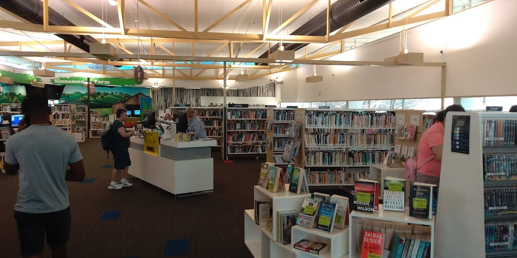 Mount Ommaney Library   library   Mt Ommaney Shopping Centre, 171 Dandenong Rd, Mount Ommaney QLD 4074, Australia   0734077010 OR +61 7 3407 7010