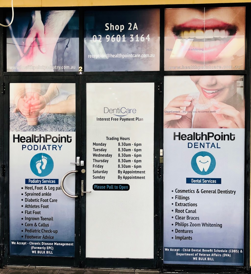 HealthPoint Dental | dentist | 2a/387-391 Hume Hwy, Liverpool NSW 2170, Australia | 0296013164 OR +61 2 9601 3164