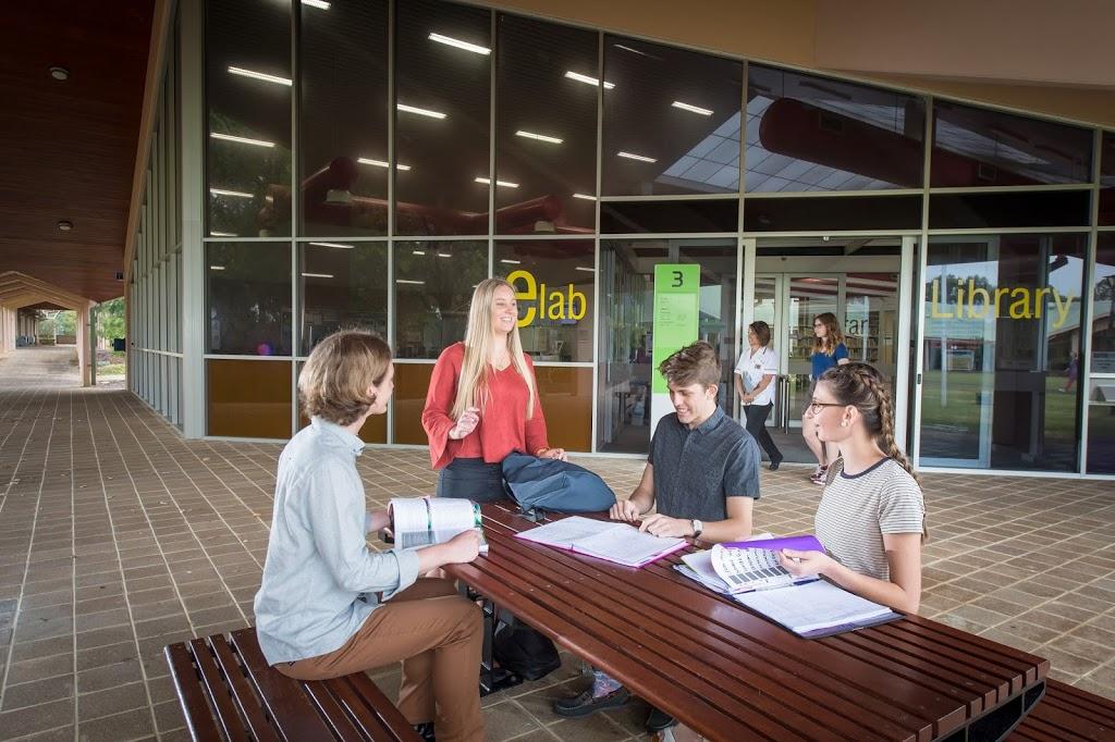 Library   library   Building 3, Edith Cowan University, 585 Robertson Dr, Bunbury WA 6230, Australia   0863045525 OR +61 8 6304 5525