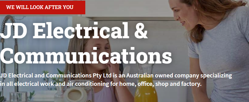 JD Electrical & Communications Pty Ltd | electrician | 9 Kingma Cres, Caboolture QLD 4510, Australia | 0411798012 OR +61 411 798 012