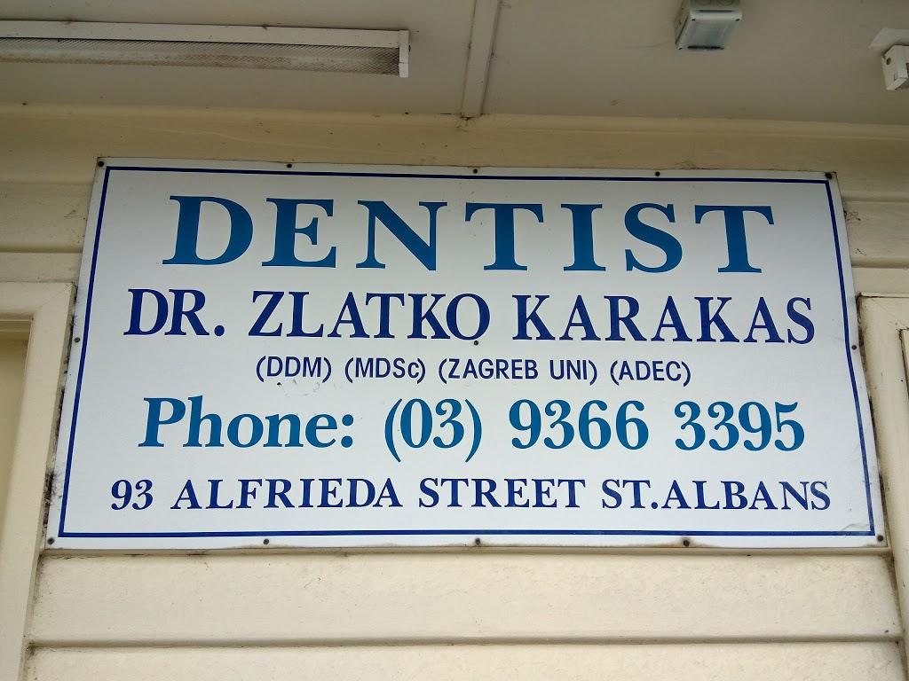 Dr. Zlatko Karakas   dentist   93 Alfrieda St, St Albans VIC 3021, Australia   0393663395 OR +61 3 9366 3395