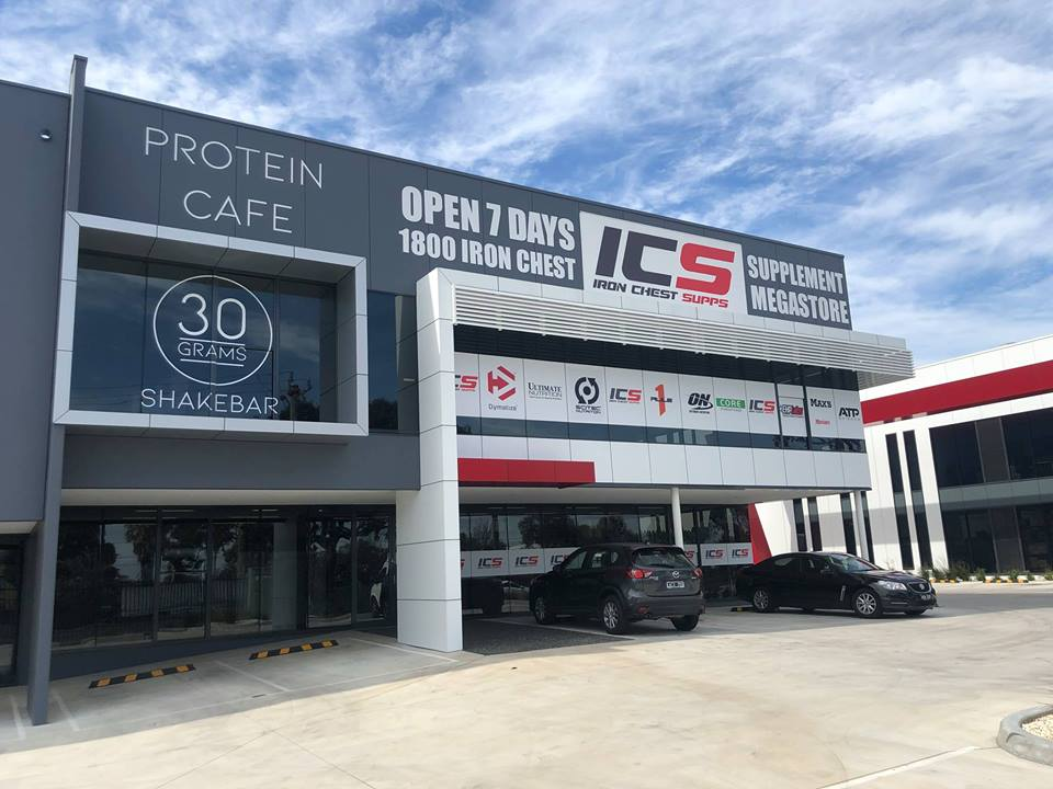 Iron Chest Supplements | store | UNIT 5/556-598 Princes Hwy, Noble Park North VIC 3174, Australia | 1800476624 OR +61 1800 476 624