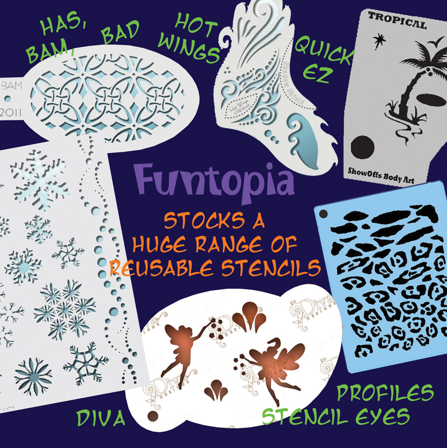 Funtopia Face Paint Make Up Special FX | store | 11 Spitfire Ave, Strathpine QLD 4500, Australia | 0421878077 OR +61 421 878 077