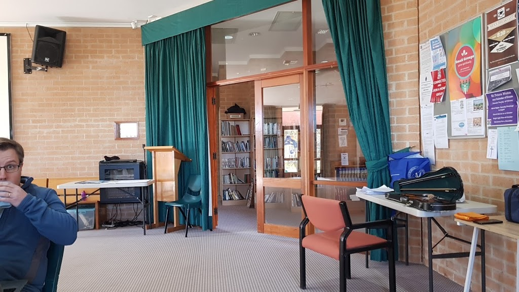 St. Peters Anglican Church | church | 1 Watling Pl, Weston ACT 2611, Australia | 0262871193 OR +61 2 6287 1193