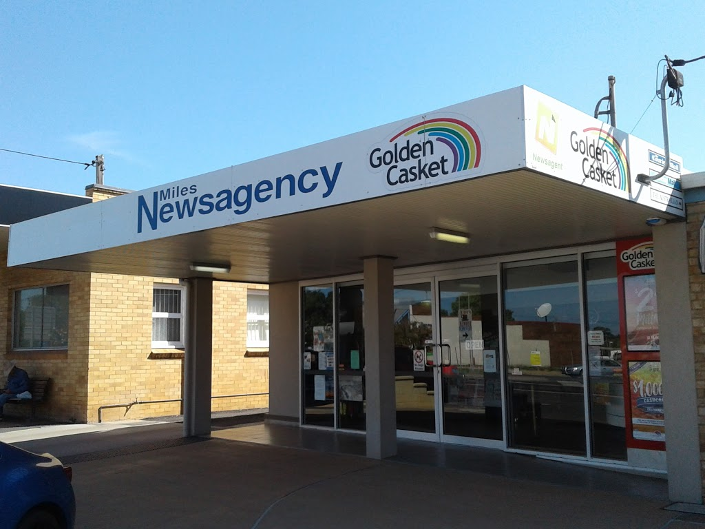 Miles Newsagency | store | 71 Murilla St, Miles QLD 4415, Australia | 0746271131 OR +61 7 4627 1131
